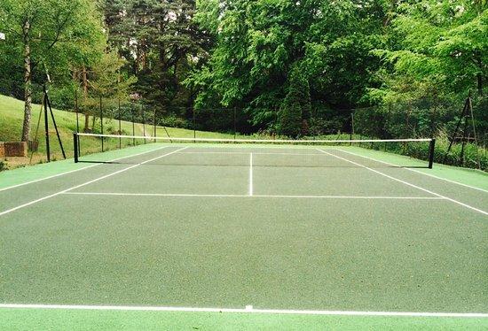 Tennis Court at Hilton Cobham