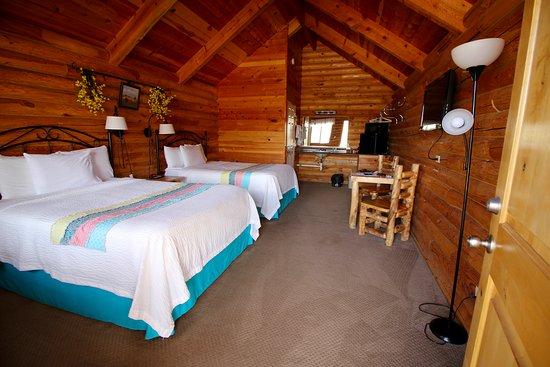 Etonnant Bryce Canyon Log Cabins: Cabin Interior