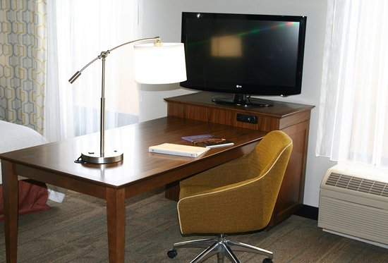 Hilliard, OH: TV and Ergonomic Chair