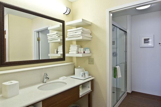 Hampton Inn and Suites Chillicothe : Shower