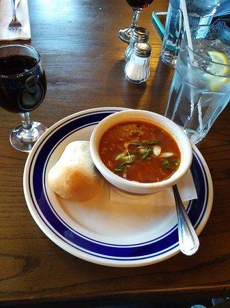 Carbonear, Canadá: Southwest bean soup
