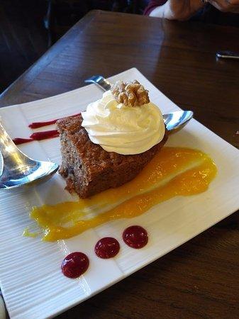 Carbonear, Canadá: Carrot cake
