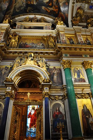 Tailored Tours St.Petersburg/ Day Tours and Shore Excursions: Inside St. Isaac's cathedral