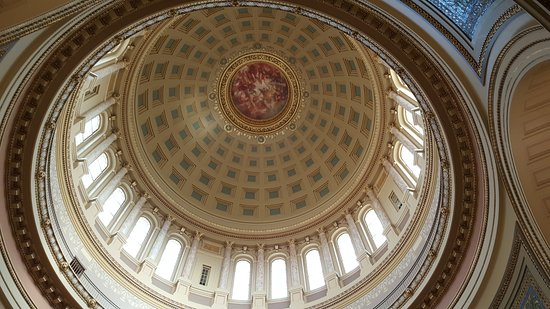 Wisconsin State Capitol: Rotunda Dome