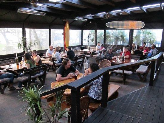 Waipu, New Zealand: Lower Restaurant