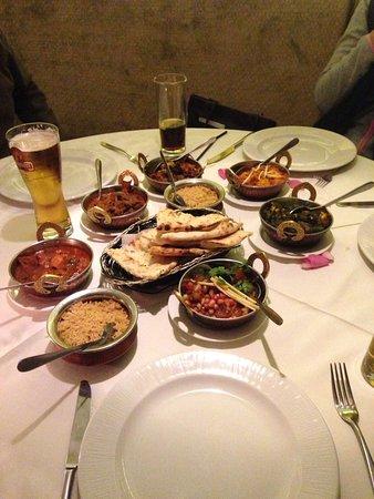 Hathersage, UK: Monday night Tapas