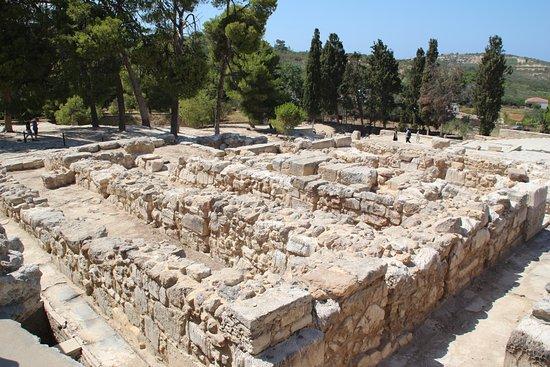 Knossos Archaeological Site: Дворец (южная часть)