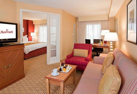 Anaheim Marriott Suites: King Suite