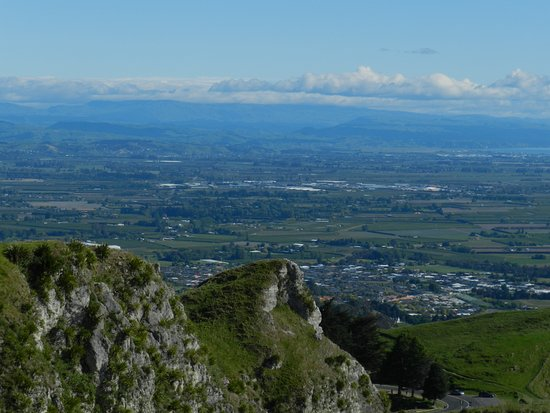 Havelock North, Nueva Zelanda: View of Napier area