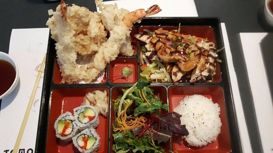 teriyaki chicken bento box lunch portion picture of tomo japanese restaurant richmond hill. Black Bedroom Furniture Sets. Home Design Ideas