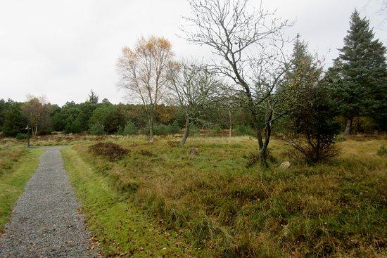 Blaavand, Denmark: Maren Ibsens grav til højre
