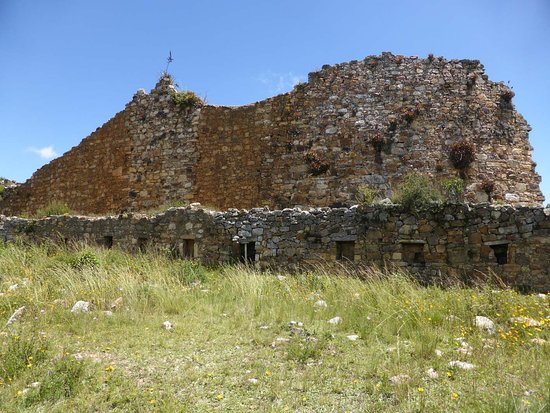 Marcahuamachuco: Festungsmauer im Westen (2)