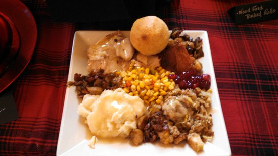 Boulder Junction, WI: Thanksgiving buffet at Aqualand
