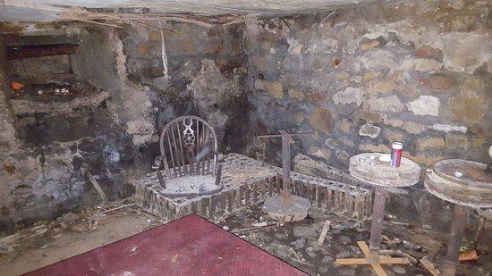 Alnmouth, UK: The cellar
