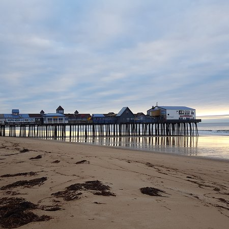 Old Orchard Beach Pier : old orchard beach