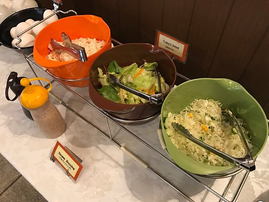 Hotel Hana: Simple breakfast yet very satifying