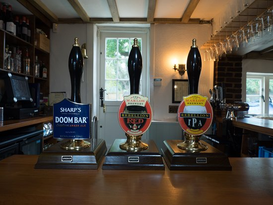 Sydenham, UK: Great draught selection...