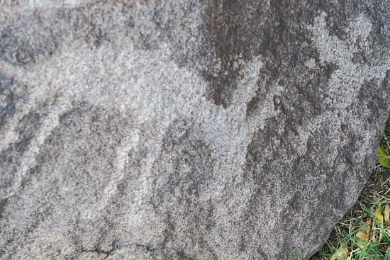 Fort Huachuca, Arizona: Stone carvings.