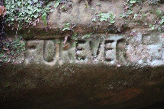 Loudonville, OH: Petroglyphs! (well, modern version)