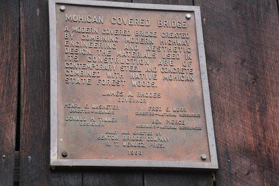 Loudonville, OH: Info on the bridge.
