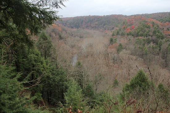 Loudonville, โอไฮโอ: From the Gorge overview, late fall