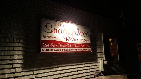 Yarmouth, Kanada: The Snack Place Restaurant