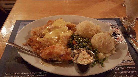 Yarmouth, Kanada: Fish dinner