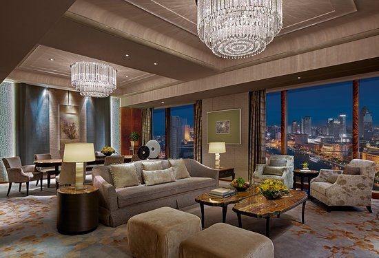 Special suit living room 特色套房 - Picture of Shangri-La Hotel ...