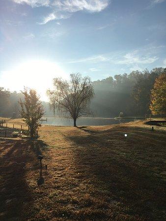 Hidden Creek Camping Resort: View from A42...#nofilter