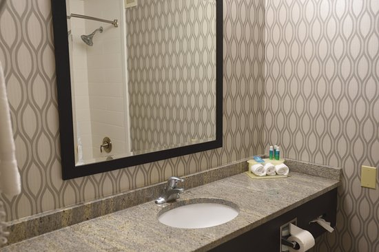 Holiday Inn Express Anderson: Guest Bathroom