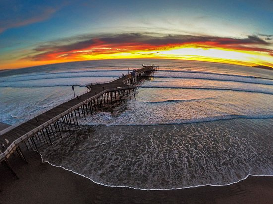 Grover Beach, Καλιφόρνια: Enjoy a walk on the beautiful Pismo Beach Pier