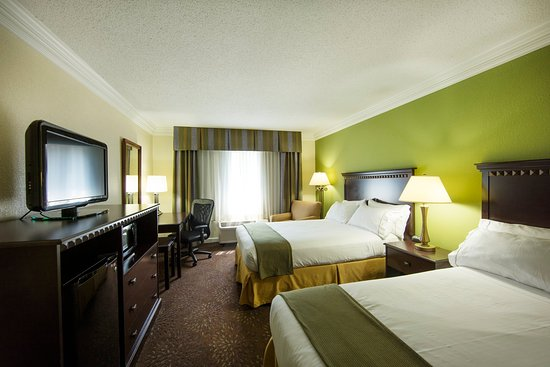 Athens, GA: Guest room with two double beds non-smoking
