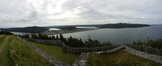 Placentia, Canada: Panorama from Castle Hill NHS