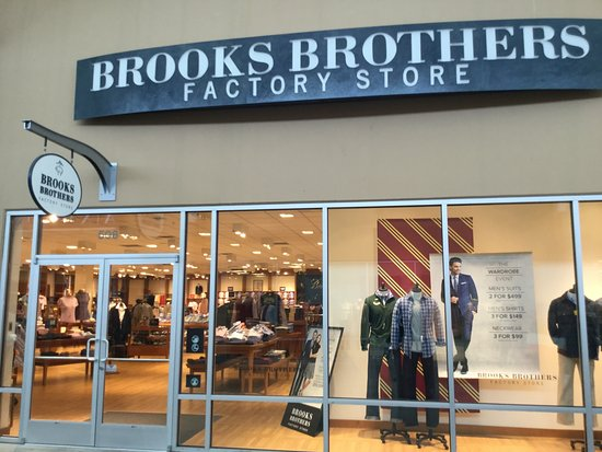 Marysville, WA: Brooks Brothers.