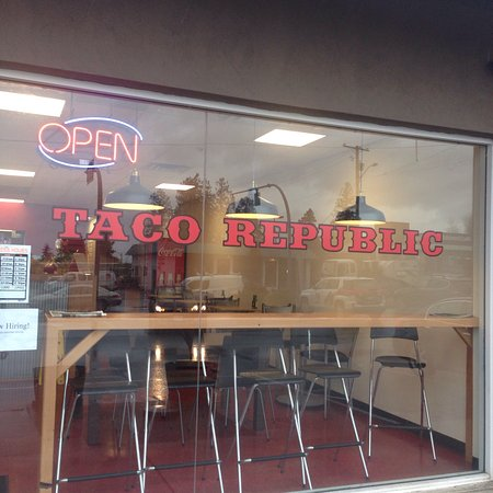 Taco Republic is the new Restaurant in Sechelt its a Filipino Mexican food.