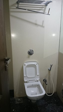 OYO 901 Hotel Host Inn: Conditions of the bedsheet  And leaking hand shower and lose towel hanger