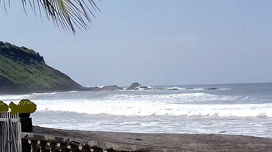 El Transito, Νικαράγουα: Vista Sur de la playa.