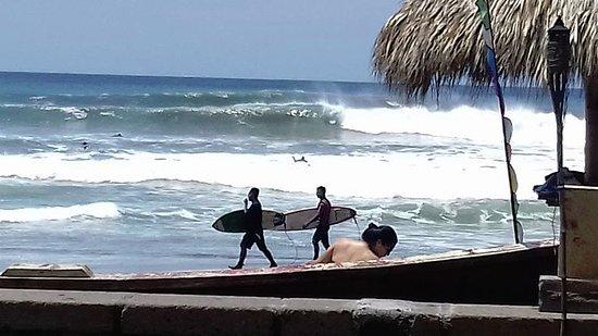 El Transito, Νικαράγουα: Clientes Surfistas