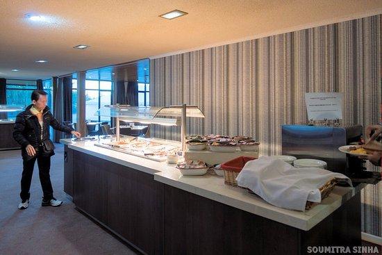 Mackenzie Country Inn: A part of the Buffet Breakfast