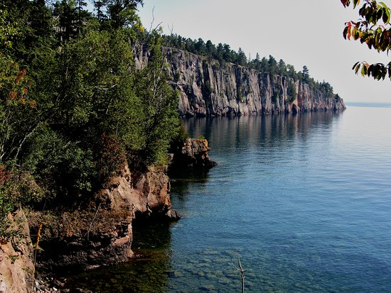 Silver Bay, MN: A view of Shovel Point