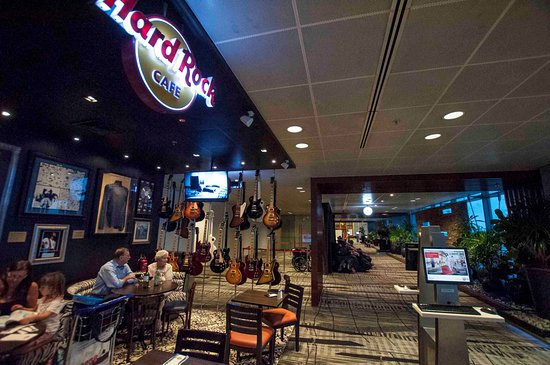Hard Rock Cafe Singapore Airport Closed