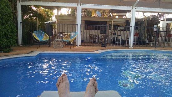 Point Samson, Australia: The very nice pool.