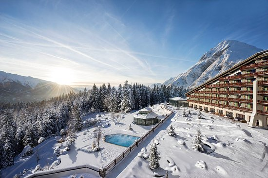 Interalpen-Hotel Tyrol: Interalpen in Winter