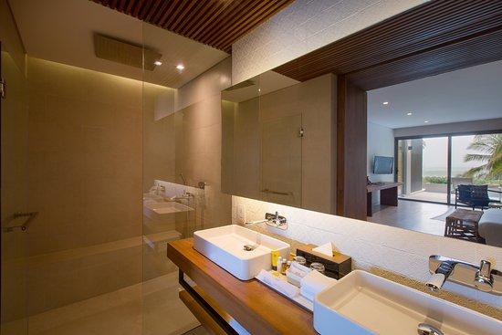 Mantra Samui Resort: Love Garden View Room Bathroom