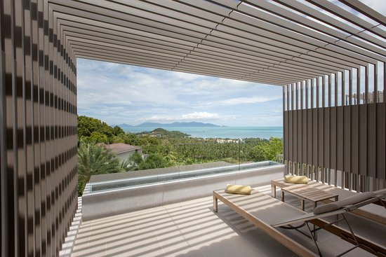 Mantra Samui Resort: Love Ocean View Room Balcony