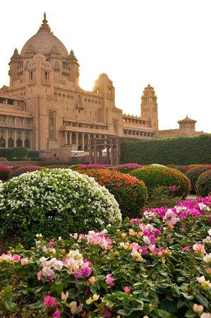 Umaid Bhawan Palace Jodhpur: Palace Gardens