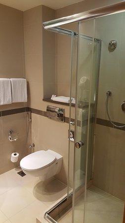 Holiday Inn Express Dubai Airport: shower cubicle