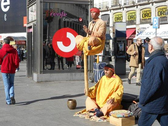 Comunidad de Madrid, España: PUERTA DEL SOL