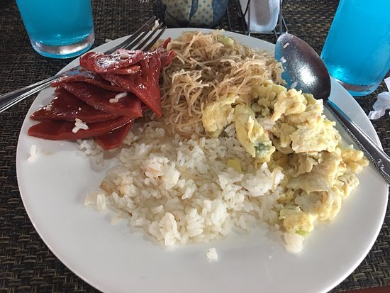 Dotties Place Hotel and Restaurant: Our breakfast on our 3rd day