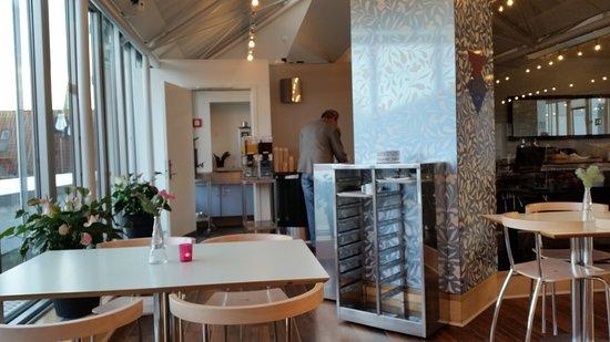 Cabinn Hotel Aarhus: Spis morgenmad med udsigt
